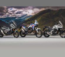 H Honda παρουσιάζει επτά αναβαθμισμένα μοντέλα στην Ευρωπαϊκή γκάμα μοτοσυκλετών της για το 2021