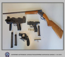 Συνελήφθη Λαρισαίος για παράβαση του νόμου περί όπλων