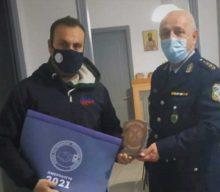 Συνάντηση Νίντου με τον Γενικό Γραμματέα της Ένωσης Αστυνομικών Υπαλλήλων Αθηνών Χύτα Κωνσταντίνο