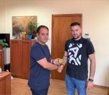 Τον Δήμαρχο Καρδίτσας κ. Β. Τσιάκο επισκέφτηκε ο πρόεδρος της Αναγέννησης Καρδίτσας