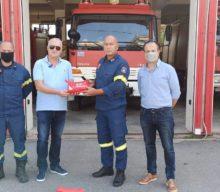 Ο Φαρμακευτικός Σύλλογος Τρικάλων δίπλα στους πυροσβέστες