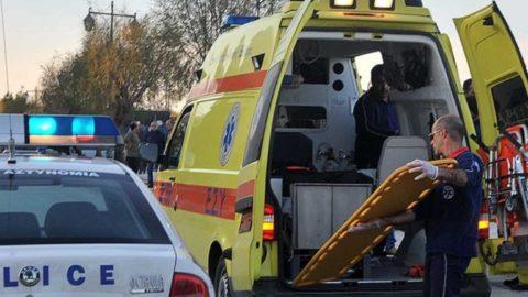Τροχαίο ατύχημα με διανομέα και τραυματισμός, σε δρόμο της Λάρισας